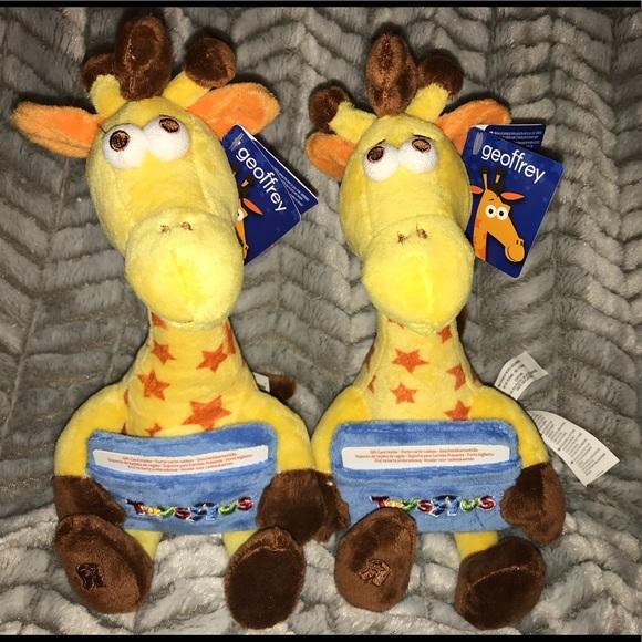 Toys Rus Other 2geoffrey Giraffe Set Gift Card Holder Toys R Us